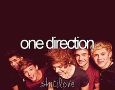 One Direction. #ShitILove
