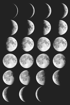 ☼ ☾moon phases