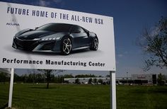 Car Critics - The all-new Acura NSX supercar will be produced at a new Performance Manufacturing Center in Ohio, meaning that Honda is seriously getting the ball rolling with the upcoming supercar – thank god for that.  http://www.carcritics.ca/2013/05/ohio-usa-home-of-upcoming-2015-acura-nsx.html