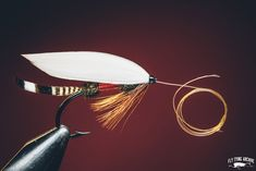 Royal Coachman.Originally a variant of course from the Coachman wet fly was commercialized and named by the Orvis family in the last quarter of the 19th century. The red band of silk was originally added to protect the herls but the way I tie my herl bodies with a reinforcing thread I think this is actually the more fragile bodytype.Tail is more commonly made from Golden Pheasant tippets but I preferer the look of Wood Duck which was the original tail material on Orvis flies. Some patterns…
