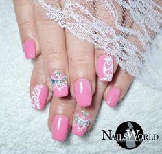 Pink  and Swarovski  #daimond #daimondnails #svarovski #springnails #nailtrends #nailstyle #nailporn #gel #gelnails #nail #nails #nailsalon #nailsbyme #nailsdone #nailslove #nailstyle #naildesign #nailpolish #nailaddict #μανικιουρ #nailtutorial #νυχια #nails2inspire #nailsoftheday #greekbloggers #nailsworlddd #naillover #nailstagram #nailartdesign #nailvid #nails2inspire #nailsoftheday #fashion