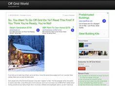 Off Grid World