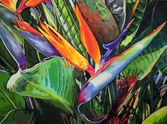 Bold Botanical: Paintings by Carol Sims