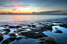Tranquil Sunrise At Coral Cove Beach Photographed by Carol r Montoya Fine Art Photography