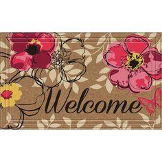 Found it at Wayfair - Naturelles Floral Paradise Doormat