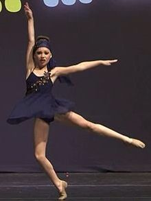 Maddie Ziegler solo performed on March 12th