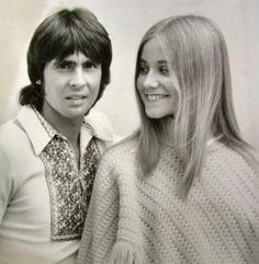 Davy Jones and Maureen McCormick 1970s