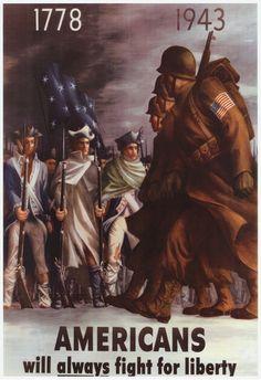Propaganda art poster