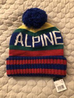 Polo Ralph Lauren Hi Tech Alpine Winter Beanie Hat CP 92 93 vtg ski snow  beach 7b0ed94f1c25