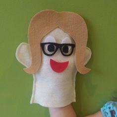 DIY Felt Hand Puppet Kit Felt Puppet Kit DIY Puppet by KidEssence