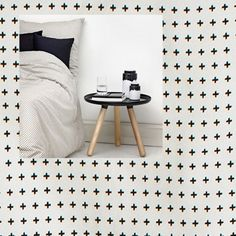 Dekbedovertrekken Plus en Cube 140x200 van Normann Copenhagen bij Mikkili online design