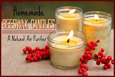 Natural Beeswax Candles with Palm Oil. Learning how to make candles gives you a new skill and control over the ingredients, which is always a good thing. This tutorial is for natural beeswax candles! Homemade Candles, Diy Candles, Candle Decorations, Making Candles, Pillar Candles, Candle Containers, Candle Jars, Candle Wicks, Mason Jars