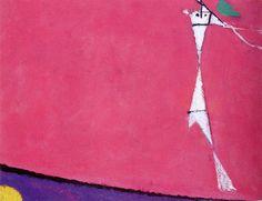 Osvaldo Licini Angelo color ciclamino 1956