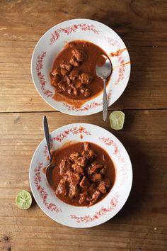 Pork in Red Chile Sauce (Asado de Bodas)