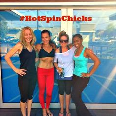 #HotSpinChicks at @Grit Cycle!