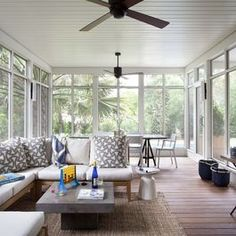 Modern Screened In Porch Design, Pictures, Remodel, Decor and Ideas - page 4
