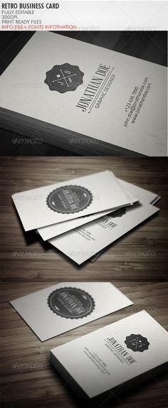logo, business cards, vintage business card, busi card, print templat