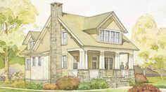 4 bedrooms, 2,300 sq.ft. Highland Cottage, plan #1335