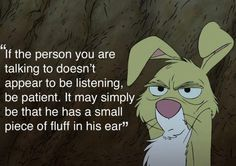 """Love that part from the """"Many Adventures of Winnie the Pooh"""""""