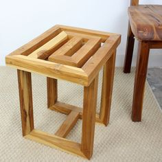 Add a unique modern twist to any room in the house with our Teak Maze Spa Stool. Teak is sustainable & our quality products are crafted for decades of enjoyment. Contact us today for friendly and reliable service! #americanteak #teak #teakfurniture #teaktuesday #gardenlife #instagarden #shabbychic #newhome  #decorator #organized #simplify #todolist #jungalowstyle #smallspacesquad #interiordesign #modernhome #outdoorliving #interior123 #ecofriendly #greenisgood #andersonteak # teakworks4you