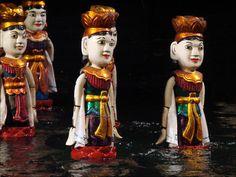 Marionnettes sur l'eau Thang Long, Hanoi, Vietnam