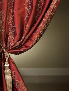 Half Price Drapes Dahlia Silk Curtain  , #HalfPriceDrapes  , #Curtain