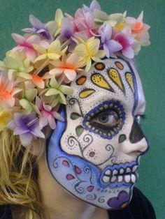 Deborah Bennett Make-Up Artist: Day of the Dead Festival - Face Painting