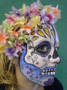 Deborah Bennett Make-Up Artist: Day of the Dead Festival - Face Painting