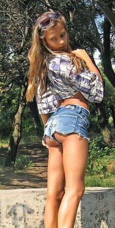 Blue Jeans, denim skirts, and daisy dukes