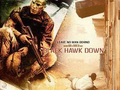 Blackhawk Down - Great Ridley Scott movie.