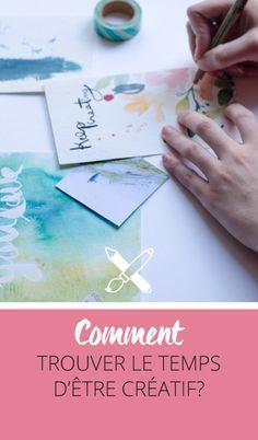 Débordé par votre vie quotidienne prenante? L'impression de ne jamais avoir de temps à consacrer à ses passions? Découvrez comment trouver le temps d'être créatif avec mes astuces et conseils pour mieux s'organiser - Cliquez pour découvrir l'article ou enregistrez l'image pour plus tard!
