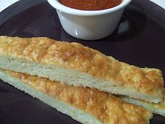 Soft garlic bread sticks (gluten free & dairy free) for latoya!