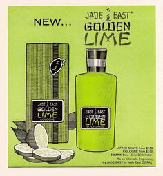 //1968 Jade East Men's After Shave and Cologne Ads that ran in Playboy Magazine.