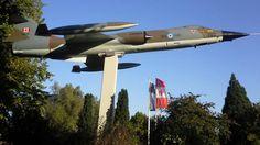 RCAF CF-104 Gate Guard
