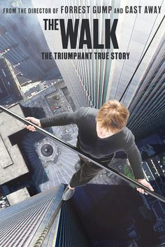 Twelve people have walked on the moon, but only one man – Philippe Petit (Joseph Gordon-Levitt) – has ever walked in the immense void between the World Trade Center towers.