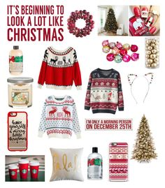 """""""Merry Christmas Eve"""" by mags232 ❤ liked on Polyvore featuring beauty, Sixtrees, Ballard Designs, Casetify, Yankee Candle, philosophy, Primitives By Kathy and Mixit"""