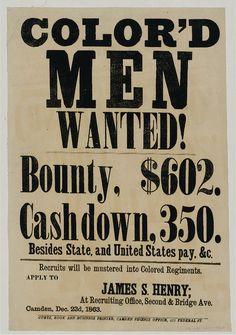 Recruiting Poster - Civil War