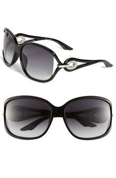 The Swarovski crystals just push these Dior sunglasses right over the top.