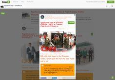 flygcforum.com ✈ BEHIND ENEMY LINES ✈ Downed Pilot Scott O'Grady Behind Bosnian Lines ✈  http://shrs.it/19lh8
