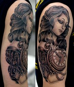 Valerie Vargas at Frith St Tattoo, London