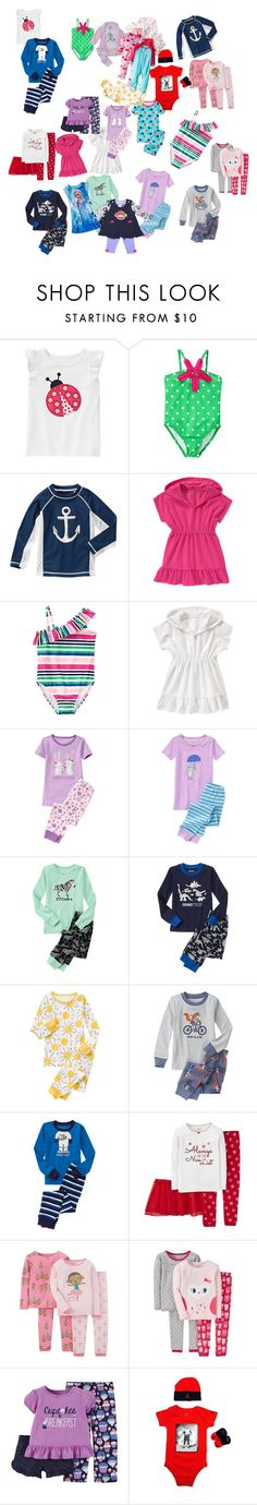 """shopping haul part 2"" by julyagwada ❤ liked on Polyvore featuring Gymboree, Carter's and Gerber"