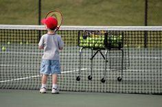 """Tennis Kid - """"I'm Ready Coach!"""""""