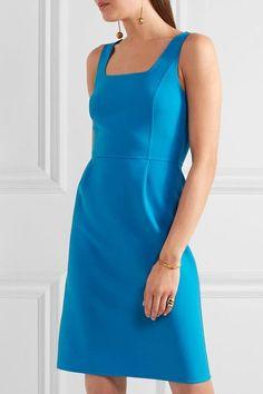 Michael Kors Collection - Crepe Mini Dress - Blue