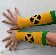 Rogue X men inspired Arm Warmer