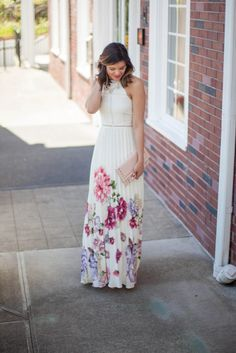 Maxi Dress Dos and Don'ts | Floral Maxi | Style Miss Molly