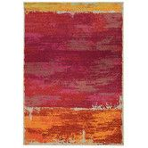 Found it at AllModern - Expressions Abstract Red Area Rug