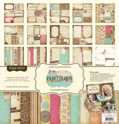 Simple Stories - Fab-U-lous Collection - 12 x 12 Collection Kit at Scrapbook.com $20.99