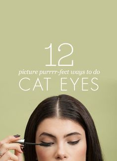 12 modern cat eyes that are picture purr-fect.