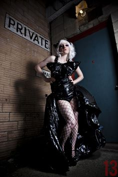 Trash Bag Dress by xBisque