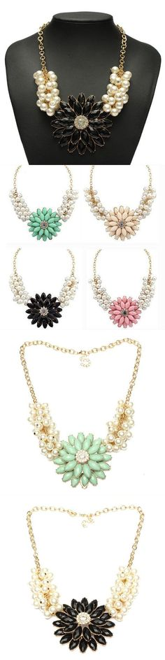 European style bauhinia pearl chain flower statement necklace necklace pendants adelaide #letter #j #necklace #pendants #necklace #pendants #for #guys #necklace #pendants #without #chain #sterling #silver #necklaces #pendants #engraved